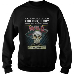 Jeff Dunham you laugh I laugh you cry I cry you offend my Minnesota Wild sweater