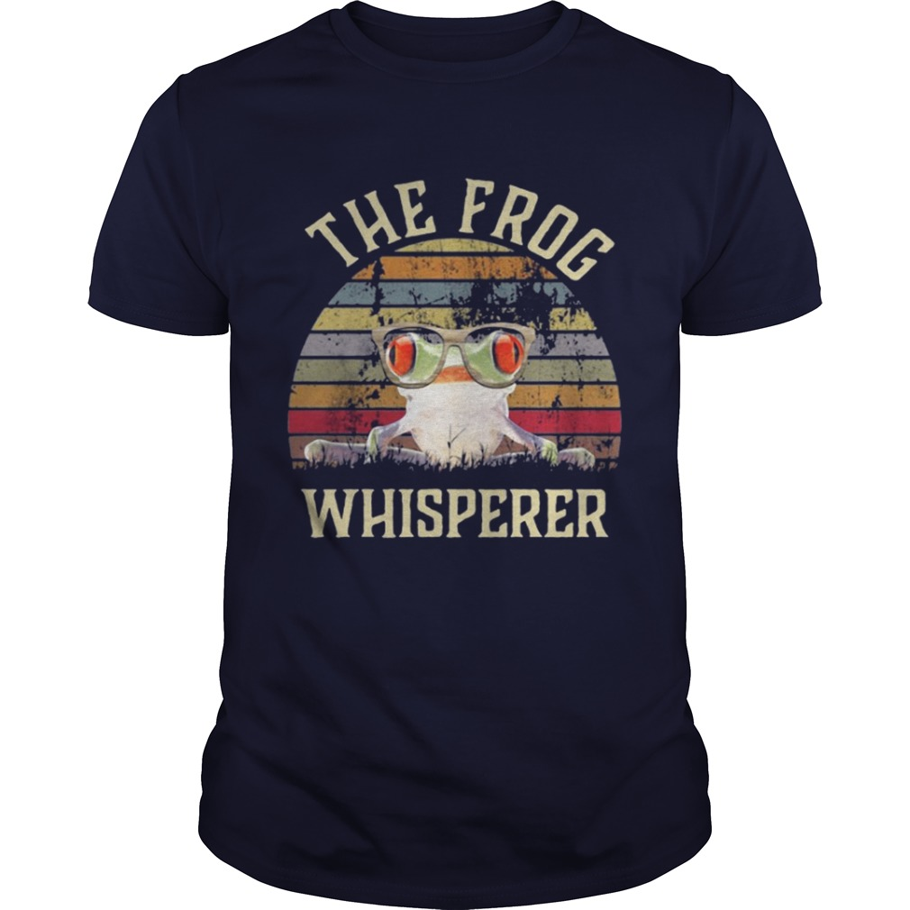 The frog Whisperer vintage shirt