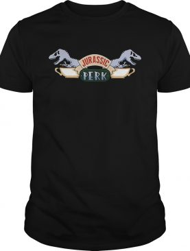 Central Perk and Jurassic Park Jurassic Perk shirt