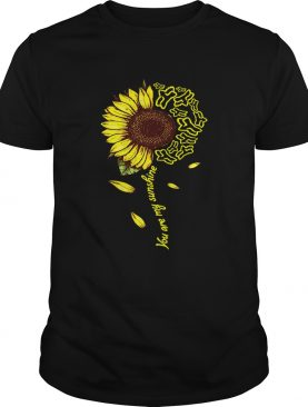 Fox Racing sunflower you are my sunshine shirts