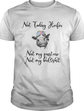 Not today heifer not my pasture not my bullshit shirts