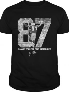 Rob Gronkowskis Thank You For The Memories shirts