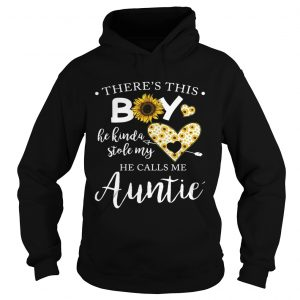 Sunflower theres this boy he kinda stole my heart he calls me auntie hoodie