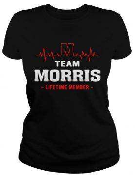 Team Morris lifetime member shirt