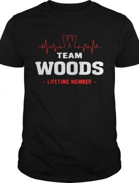 Team Woods lifetime member shirt