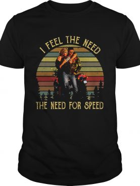 Vintage I Feel The Need The Need For Speed Top Gun Shirt