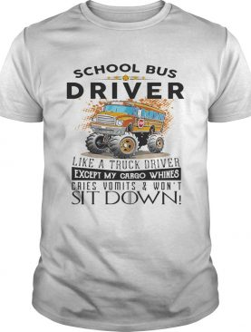School bus driver like a truck drivers shirts