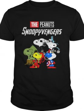 Marvel Avengers Endgame the peanuts snoopy Avengers shirts