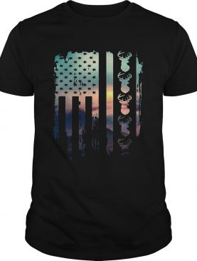 American flag hunting shirts