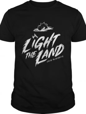 Cleveland Cavaliers 2019 Light The Land Playoffs shirts