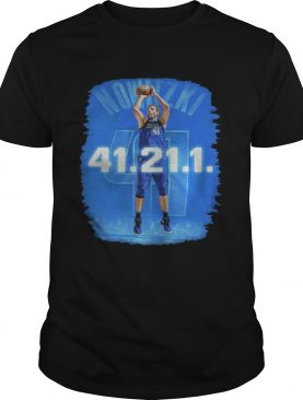 Dallas Mavericks Dirk Nowitzki 41 21 1 shirts