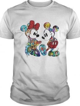 Disney Mickey Mouse and Minnie shirts