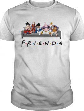 Dragon ball z friends shirts