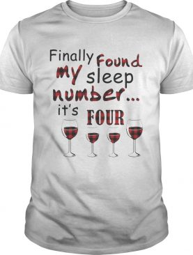 Finally Found My Sleep Number It's Four Glass Of Wine Plaid shirts