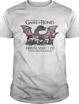 Game of Bones house Shih Tzu tails are wagging shirts