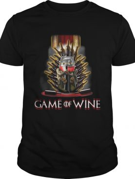 Game of Thrones Game of wine shirts