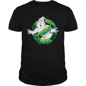 Ghostbusters Classic Slim Ghost Logo Graphic Funny Gift unisex
