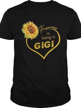 Happiness Is Being A Gigi Sunflower T-shirts
