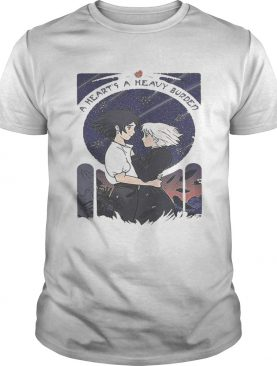 Howl and Sophie a heart's heavy burden shirts