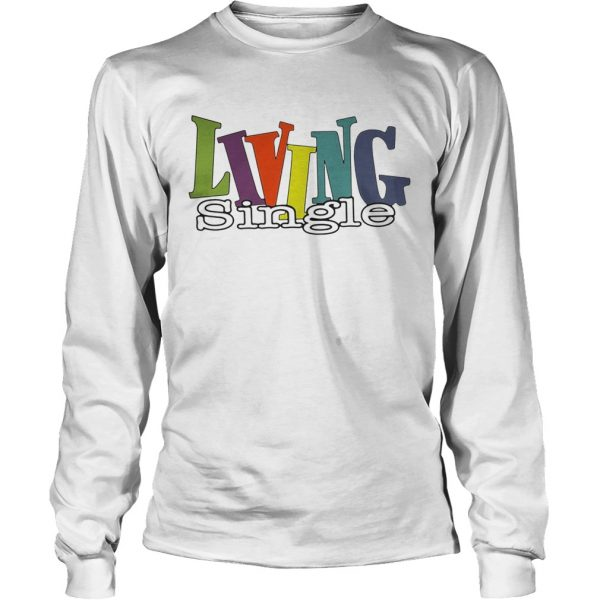Official Living single longsleeve tee