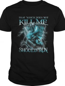 That Witch Does Not Kill Me Should Run Blue Dragon shirts