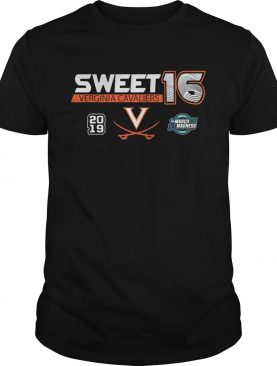 Virginia Cavaliers 2019 NCAA Basketball Tournament March Madness Sweet 16 shirts