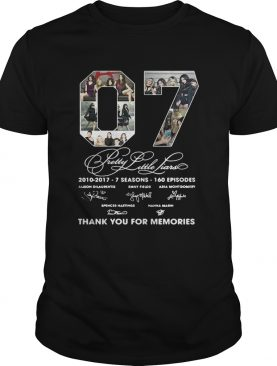 07 Pretty Little Liars thank you for memories shirts