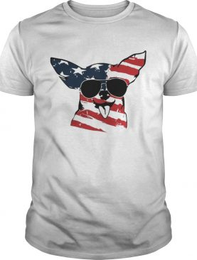 4th Of July Chihuahua American Flag Shirts
