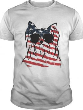 4th Of July Yorkshire Terrier American Flag Shirts