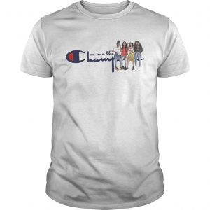 African American girl we are the champions unisex