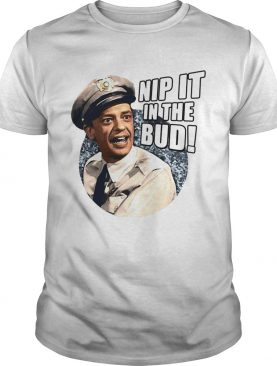 Andy Griffith Icon Nip It Adult shirts