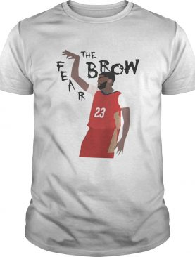 Anthony Davis Fear The Brow shirts