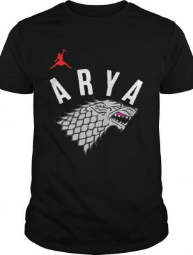 Arya Stark Game of Thrones Silver Foil Shirts