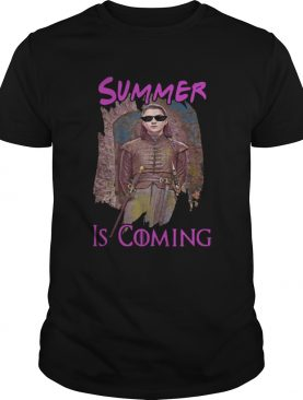 Arya Stark summer is coming Game of Thrones shirts