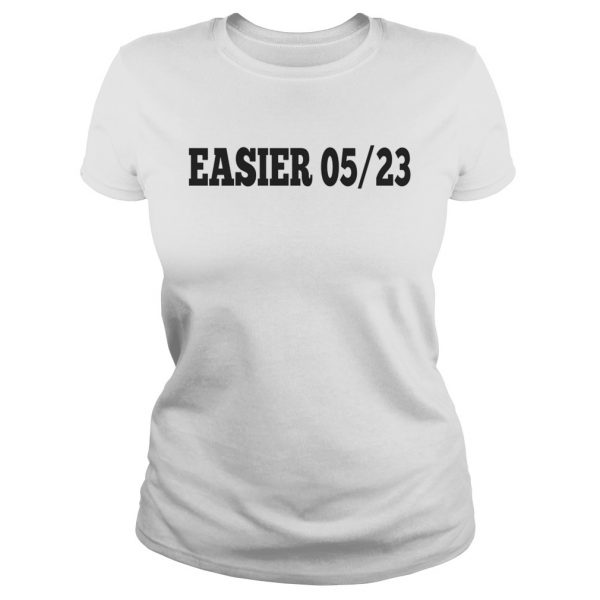 Ashton Irwin EASIER 0523 ladies tee