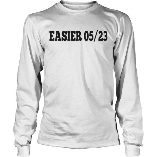 Ashton Irwin EASIER 0523 longsleeve tee