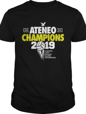 Ateneo Champions 2019 Ateneo Lady Eagles UAAP81 champions shirts