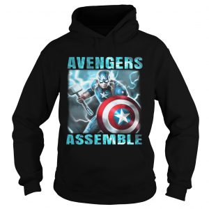 Avengers assemble Captain America hoodie