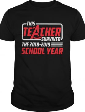 Avengers this teacher survived the 2018 2019 school year shirts
