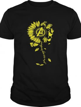 Avengers you are my sunshine flower shirts