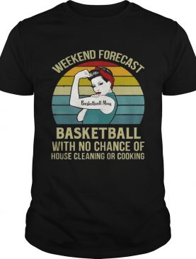 Basketball Mom Weekend Forecast With No Change Vintage T-Shirts