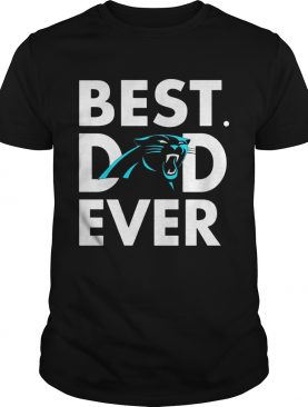 Best Dad Ever Carolina Panthers Father's Day Shirts
