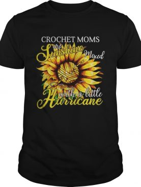 Crochet mons are sunshine mixed with a little hurricane shirts