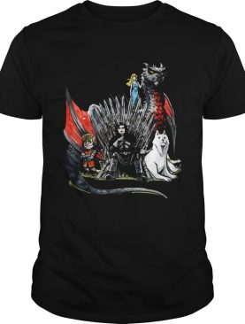 Daenerys Targaryen Jon Snow and Tyrion Lannister Game of Thrones tshirts