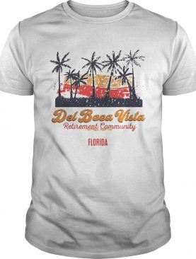 Del Boca Vista retirement community Florida shirts