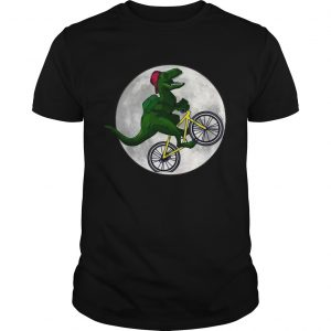 Dinosaurs Ride Bicycles On The Moon unisex