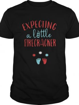 Expecting a little firecracker shirts