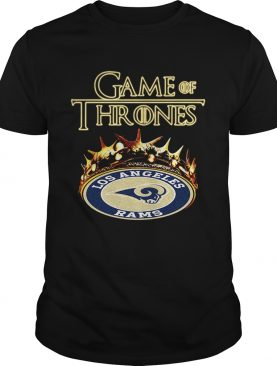 Game of Thrones Los Angeles Rams mashup shirts