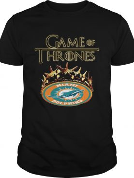 Game of Thrones Miami Dolphins mashup shirts