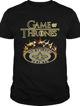 Game of Thrones New Orleans Saints mashup shirts